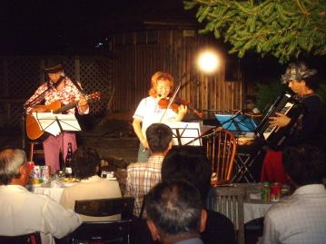 真夏の夜のミュージカルコンサート